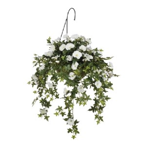 House of Silk Flowers Morning Glory - Best Artificial Hanging Plants: Securely