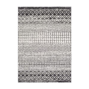 Artistic Weavers Chester Black Area Rug - Best Rug for Under Kitchen Table: Kid- and pet-friendly