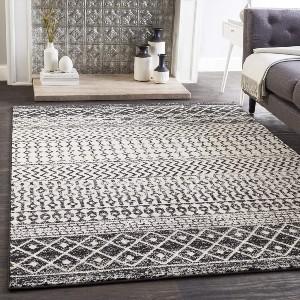 Artistic Weavers Chester Black Area Rug - Best Rug for Queen Size Bed: Kid- and pet-friendly