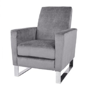 GDFStudio Arvin  - Best Recliners for Small Spaces: Stainless Steel Legs