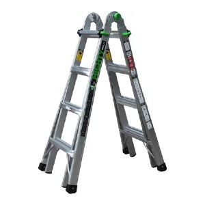 Ascent Mighty  - AHL-17 - Best Ladders for Stairs: Folds Flat for Easy Transport and Storage