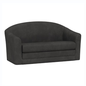 Pottery Barn Teen Ashton  - Best Futons for Small Spaces: Includes Four Small Black Plastic Feet