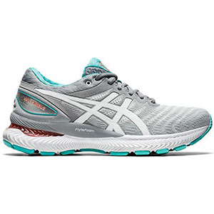 ASICS Gel-Nimbus 22 - Best Shoes for Running: Two GEL cushioning units