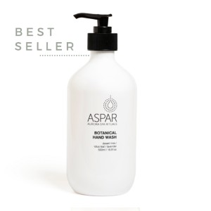 Aspar Botanical Hand Wash - Best Liquid Hand Soap: Hand wash with signature spa blend of 'relax' essential oils