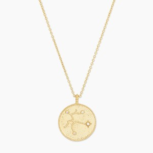 Gorjana Astrology Coin Necklace - Best Personalized Jewelry for Moms: For astrology-obsessed moms
