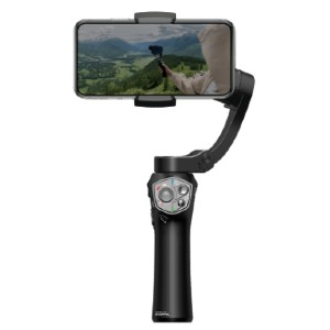 Atom A Pocket Sized 3 axis Smartphone Handheld Stabilizer - Best Camera Stabilizers for Smartphone: Easy Control Stabilizer