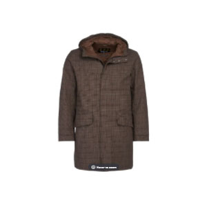 Barbour Audell Waterproof Jacket - Best Raincoats Under 1000: Barbour Embroidery to Pocket Flap