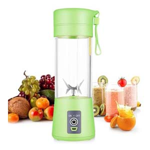 AUFELL USB Juice Blender - Best Portable Blender: Rechargeable with magnetic secure switch