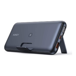 AUKEY Wireless Portable Charger - Best USB-C Power Banks: Wireless Charger with LCD Indicator
