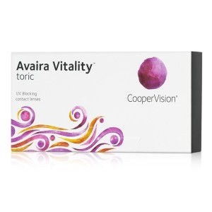 CooperVision Avaira Vitality Toric - Best Contact Lenses for Astigmatism: Corrects Vision for People with Astigmatism