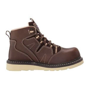 Avenger Work Boots Carbon Composite Safety Toe - Best Safety Work Boots: Lace-Up Boots