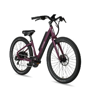 Aventon PACE 350 STEP-THROUGH EBIKE - Best Electric Bike Under $2000: Easy Thumb Buttons