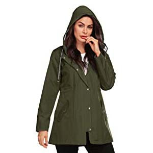 Avoogue Women Raincoat - Best Raincoats for Cycling: Fashion item