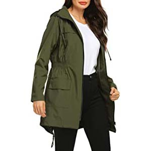 Avoogue Women Lined Rain Jacket - Best Raincoats Amsterdam: Looks messy? No, thanks