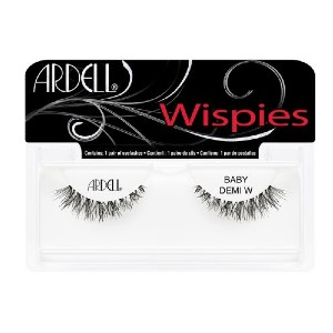 ARDELL BABY DEMI WISPIES - Best Lashes for Glasses: Light Volume and Short Length