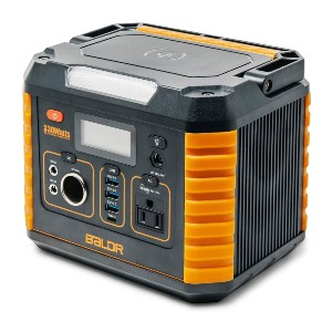 BALDR Portable Power Station 330W - Best Powerstation for iPhone: You can charge wirelessly