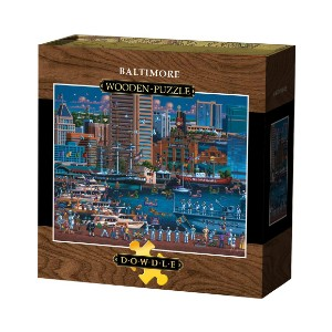 Dowdle BALTIMORE  - Best Wooden Jigsaw Puzzles for Adults: Feature a High Quality Giclée Print