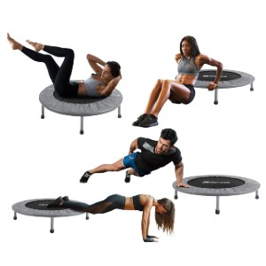 BCAN Mini Trampoline 38 Inch  - Best Trampoline for Teenagers: Exercise with ease and fun