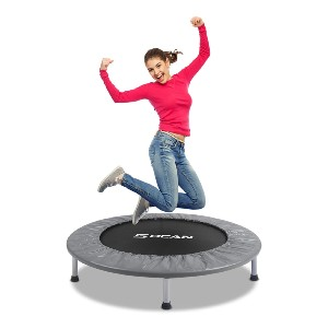 BCAN Mini Trampoline for Adults  - Best Trampoline Backyard: Exercise with fun