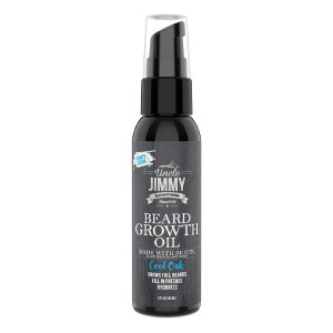 Uncle Jimmy BEARD GROWTH OIL - Best Beard Oil for Growth: Fill in Patches Hydrates