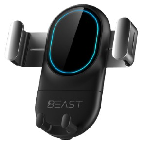 BEAST Qi - Wireless Car Charger - Best Wireless Charger Stand: Securely Hold Your Phone