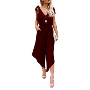 BELONGSCI Women Outfit Sleeveless Jumpsuit - Best Jumpsuits on Amazon: Great for any occasions