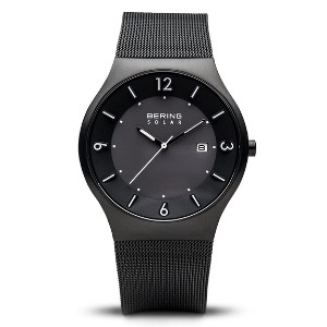 BERING Men's Slim Watch 14440-222 - Best Solar-Powered Watches: Sleek and minimalist