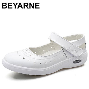 BEYARNE SlipOn Nurse Loafers - Best Waterproof Shoes for Nurses: Breathable and Fashionable