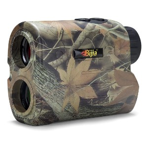 BIJIA Hunting Rangefinder  - Best Rangefinder for Bow Hunting: Durable Body and Ultra Clear LCD Display