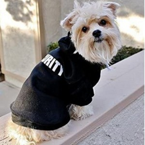 BINGPET Security Patterns Printed Puppy Clothes  - Best Clothes for Dogs: Perfect for your bodyguard
