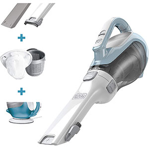 Black+Decker CHV1410L 16 volt Lithium Cordless Dust Buster Hand Vac - Best Car Vacuums: Ideal for Quick Pick Up