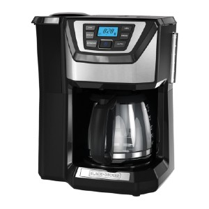 Black+Decker Mill and Brew Coffeemaker - Best Grinder and Coffee Maker: Auto Brew and Auto-Shutoff Feature