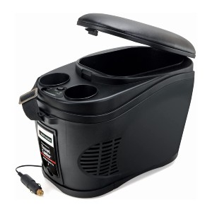 Black+Decker Portable Travel Cooler/Warmer  - Best Electric Coolers for Truckers: Automatic Off Cooler