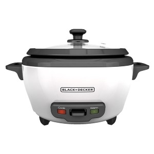 Black+Decker RC506  - Best Cookers for Rice: Removable Nonstick Bowl