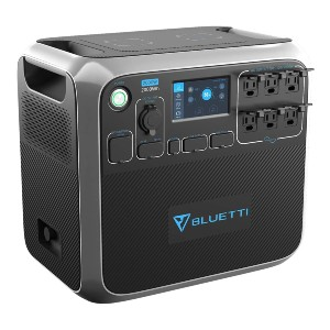 Bluetti AC200P  - Best Budget Power Station:  3500+ life cycle
