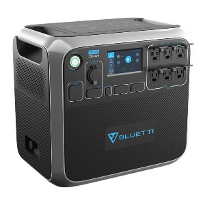 Bluetti Portable Power Station AC200P  - Best Portable Power Station with Solar Panels: 3500+ life cycle
