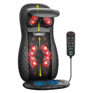 RENPHO BM066 - Best Back Massager with Heat: Offers Soothing Heat and Seat Vibration