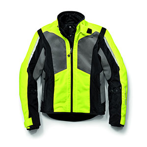 BMW AIRSHELL JACKET WOMEN - Best Raincoat for Motorcycle Riders: Lightweight and Eye Catching