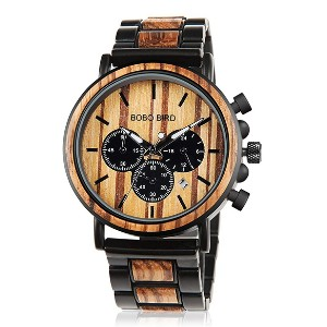 BOBO BIRD Wooden Mens Watches  - Best Wooden Watches Under $100: Luxurious and manly