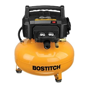 Bostitch BTFP02012 - Best Air Compressors for Home Shop: High-efficiency motor