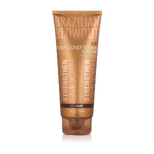 BRAZILIAN BLOWOUT Acai Deep Conditioning Masque - Best Conditioner for Bleached Hair: Conditioning Formula for Bleached Hair