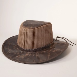 American Hat Makers Solair Breeze Sun Hat - Best Sun Hat Protection: Chin Strap Included with Purchase