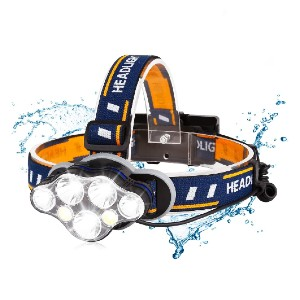 BRIGENIUS Rechargeable Headlamp - Best Headlamps for Work: Super Bright and Long-Lasting