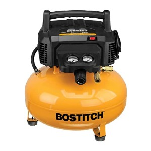 Bostitch BTFP02012 - Best Air Compressors for Sandblasting: For chilly weather