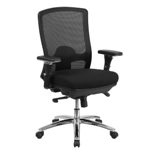 BTOD Intensive Use 24/7 Big And Tall Mesh Back Office Chair Rated For 350 lbs - Best Office Chair Under $500: High-Quality Material