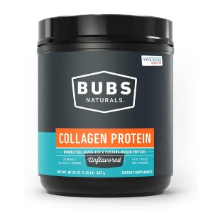 BUBS Naturals Collagen Peptides - Best Collagen Powder for Joints: Aids In Amazing Joint Health