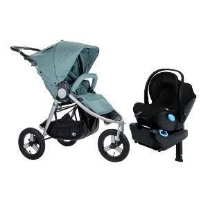 BUMBLERIDE Indie and Clek Liing - Best Stroller Jogger Travel Systems: Handlebar Adjusts Up to 45.5