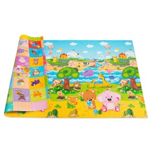 Baby Care Play Mat Foam Floor Gym  - Best Non Toxic Play Mat: A great insulator