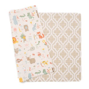 Baby Care Play Mat - Haute Collection - Best Playmat for Crawling Baby: Great for indoor and outdoor
