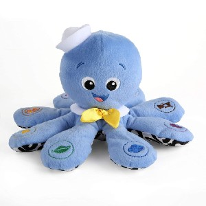 Baby Einstein Octoplush Musical Plush Toy - Best Musical Toys for 6 Month Old: Educational huggable toy